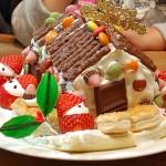2018年12月*家族5人*たかみん家の食費!クリスマスは「お菓子の家」作りが定番です